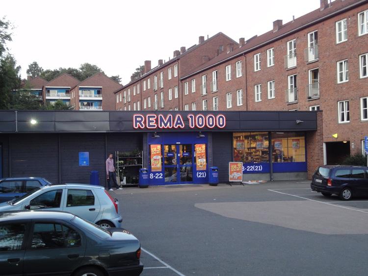Matbutiker och priser - Rema 1000