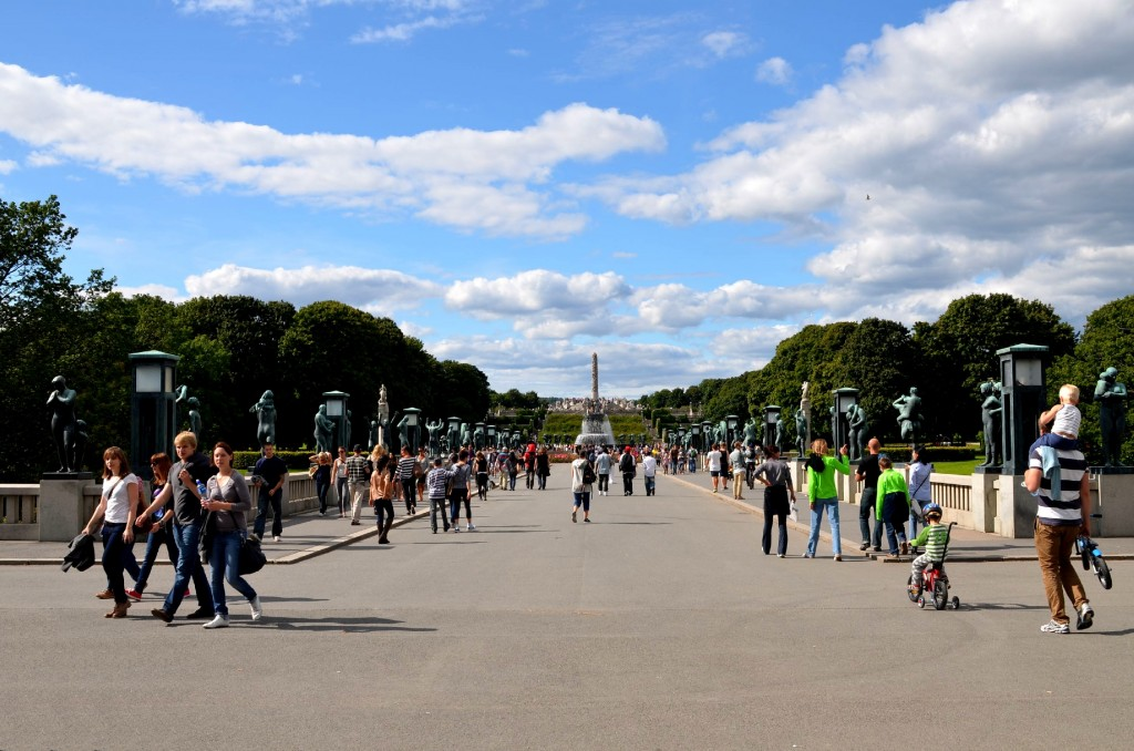 Fritid - Vigelandsparken